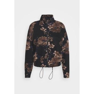 オンリー パーカー・スウェットシャツ レディース アウター ONLALICE ZIP BOMBER   - Zip-up hoodie - black
