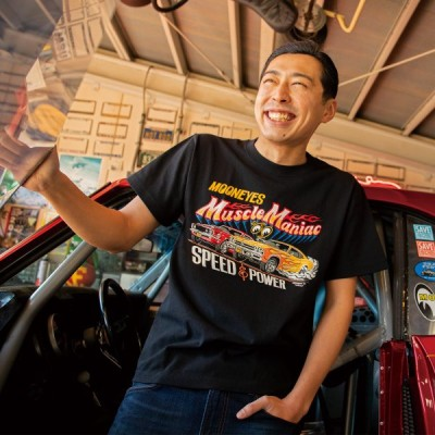 ムーンアイズ MOON Muscle Maniac (ムーン マッスル マニアック) Tシャツ