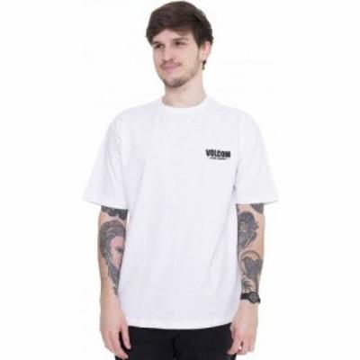 ボルコム Volcom メンズ Tシャツ トップス - Companystone LSE White - T-Shirt white