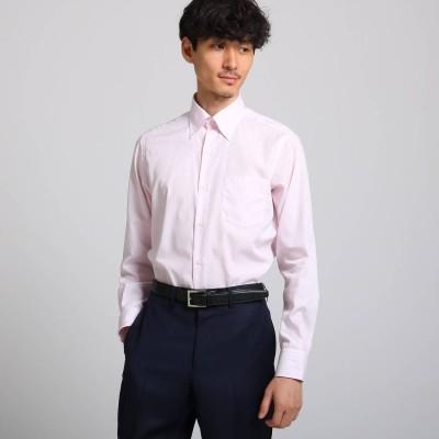 タケオ キクチ TAKEO KIKUCHI クラスターストライプシャツ (ベビーピンク)