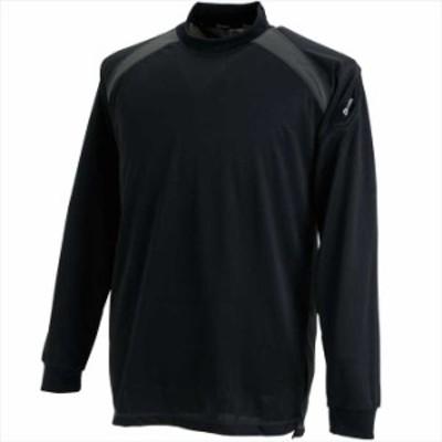 還元祭クーポン対象 TS DESIGN (TSデザイン) スマートネックシャツ ブラック 3085 2002 作業服 ユニフォーム