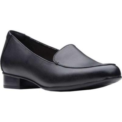 クラークス Clarks レディース ローファー・オックスフォード シューズ・靴 Juliet Lora Loafer Black Leather