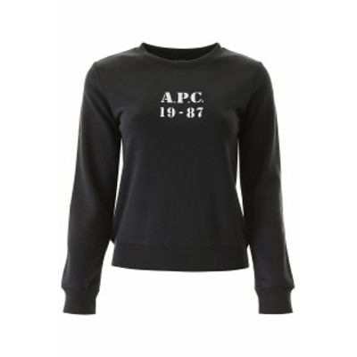 A.P.C/アー ペー セー トレーナー NOIR A.p.c. a.p.c. 19-87 sweatshirt レディース 秋冬2020 COECQ F27610 ik