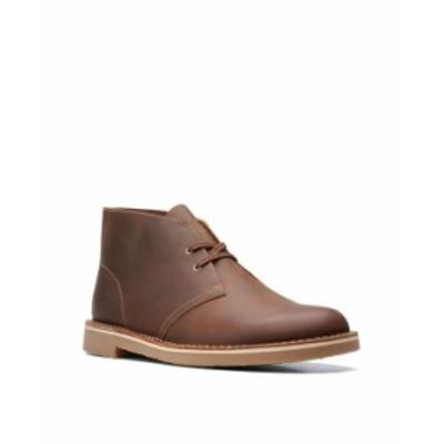 クラークス メンズ ブーツ・レインブーツ シューズ Men's Bushacre 3 Boots Beeswax Leather