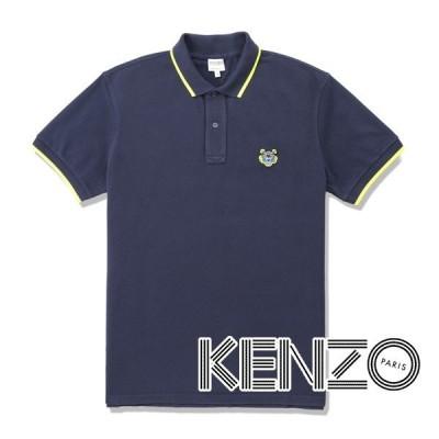 ケンゾー ポロシャツ(ネイビー) KA-002