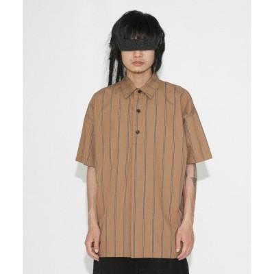 シャツ ブラウス 【VOAAOV】 stripe S/S shirt