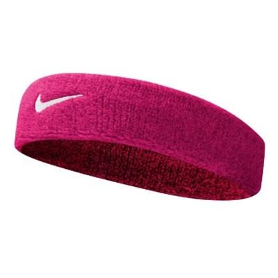 ヘッドバンド ナイキ NIKE スウッシュ ヘアバンド メンズ レディース テニス ジョギング おでこ 汗止め スポーツ アクセサリー ピンク/BN1003-639