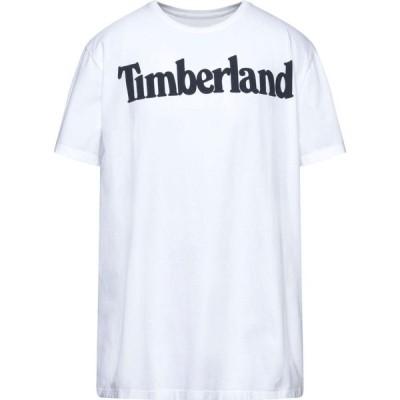 ティンバーランド TIMBERLAND メンズ Tシャツ トップス T-Shirt White