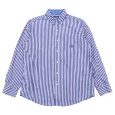 チャップス ラルフローレン ワンポイントロゴ ボタンダウンシャツ ストライプ サイズ表記:M