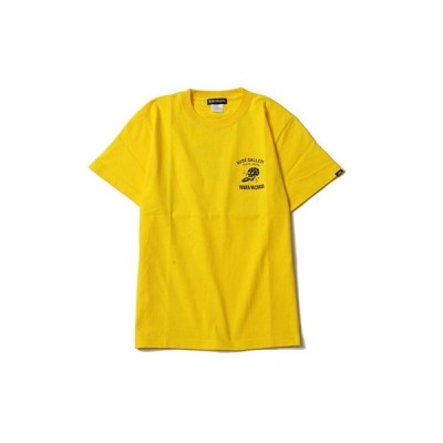 RUDE GALLERY × TOWER RECORDS T-shirts イエロー Sサイズ Apparel