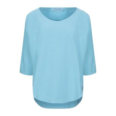 EUROPEAN CULTURE スウェットシャツ スカイブルー XS コットン 95% / ポリウレタン 5% スウェットシャツ