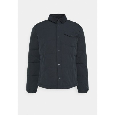 エスプリ ジャケット&ブルゾン メンズ アウター THIN SHAC - Winter jacket - dark blue