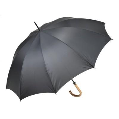メンズ 長傘 10本骨 クラシックスタイル グレー 親骨65cm 雨傘 高密度 超撥水 かさ工房ワカオ 日本製傘 Tokyo Made WAKAO 紳士 男