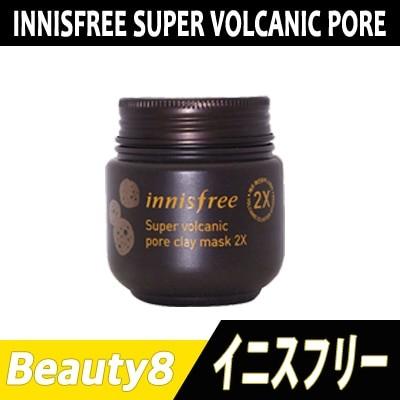 「イニスフリー」スーパー火山毛穴マスク2X 100mL