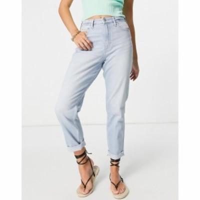ホリスター Hollister レディース ジーンズ・デニム ボトムス・パンツ Straight Leg Jeans In Light Blue Wash ライトウォッシュブルー