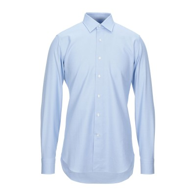 RAF MOORE シャツ ブルー 40 コットン 100% シャツ