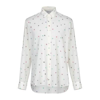 SAINT LAURENT シャツ アイボリー 40 ウール 100% シャツ