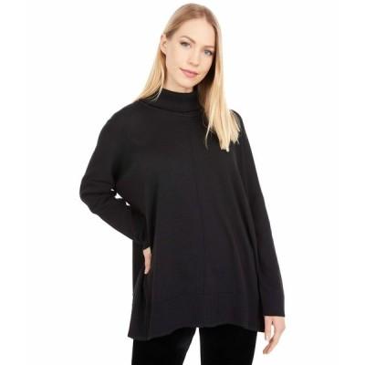 リラピー ニット&セーター アウター レディース Oversized Turtleneck Sweater Black