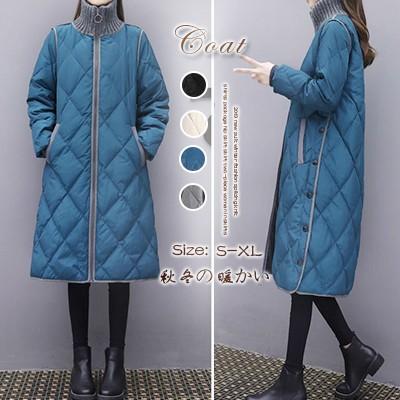 秋冬新作!防寒ダウンジャケット ロングタイプ 軽量 アウター ロング 韓国ファッション 高品質超暖かZX497