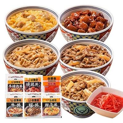 吉野家 新・大人気セット 冷凍 どんぶり 詰め合わせ ( 牛丼 / 豚丼 / 焼肉丼 / 親子丼 など11袋 )
