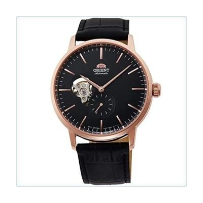 Orient Men's 46.1mm Black Leather Band Steel Case Automatic Analog Watch RA-AR0103B10B並行輸入品