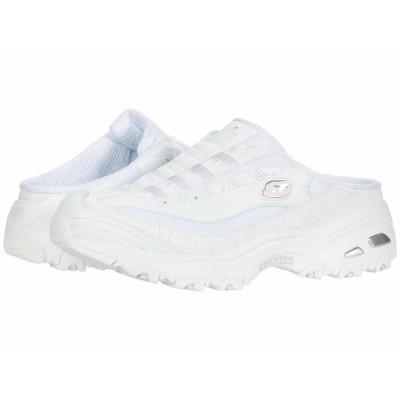 スケッチャーズ スニーカー シューズ レディース D'Lites - Comfy Cloud White/Light Pink