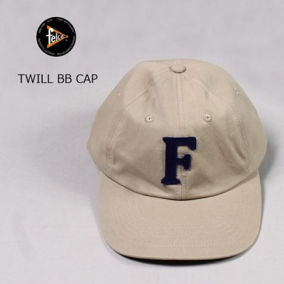 FELCO フェルコ  ツイル ベースボールキャップ メンズ レディース