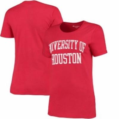 Champion チャンピオン スポーツ用品  Champion Houston Cougars Womens Red University T-Shirt
