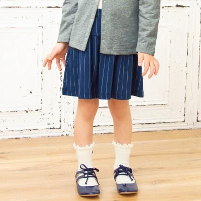 ギャザースカート【春 夏 秋冬 子供服】(ジータ/GITA basic)