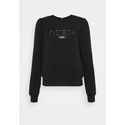 ゲス パーカー・スウェットシャツ レディース アウター AMELIA  - Sweatshirt - jet black