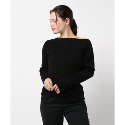 ニット Feminine line knit