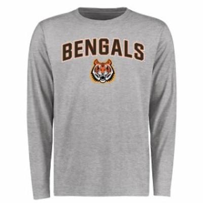 Fanatics Branded ファナティクス ブランド スポーツ用品  Idaho State Bengals Ash Proud Mascot Long Sleeve T-Shirt
