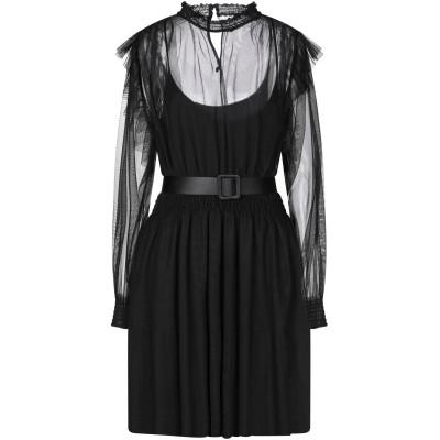 インペリアル IMPERIAL ミニワンピース&ドレス ブラック M ポリエステル 100% ミニワンピース&ドレス