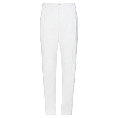 ドルチェ & ガッバーナ DOLCE & GABBANA パンツ ホワイト 54 バージンウール 100% パンツ