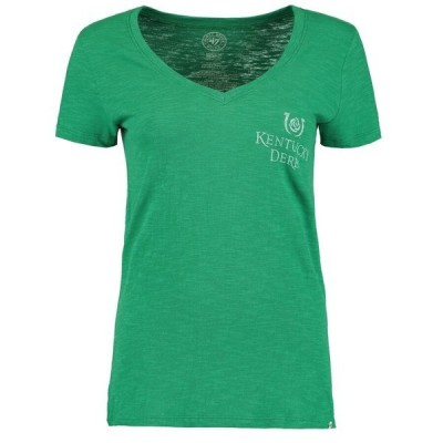フォーティーセブン レディース Tシャツ トップス Kentucky Derby '47 Women's Scoop Derby Hat Scrum T-Shirt