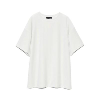 (styling//スタイリング)ベロアTシャツ/レディース WHT
