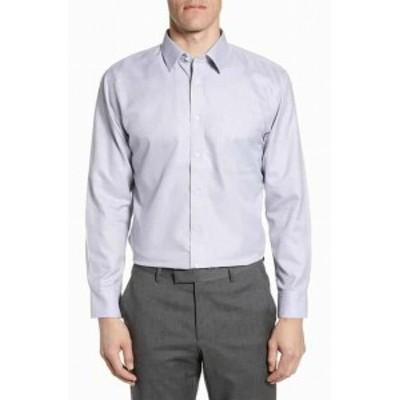 Nordstrom ノードストローム ファッション ドレス Nordstrom Mens Shop NEW Blue Men Size 16 Long Sleeve Button Down Shirt