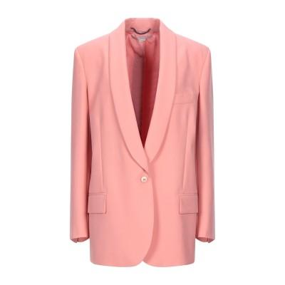 ステラ マッカートニー STELLA McCARTNEY テーラードジャケット サーモンピンク 40 ウール 100% テーラードジャケット