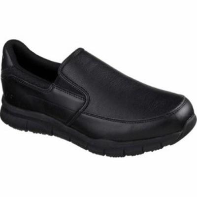 スケッチャーズ その他シューズ Work Relaxed Fit Nampa Groton Slip Resistant Shoe Black