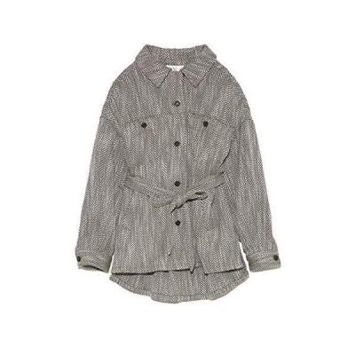 リリーブラウン ビッグシルエットシャツジャケット LWFJ204091 レディース BRW 日本 F (FREE サイズ)