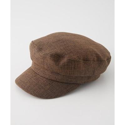 帽子 キャスケット LINEN LIKE CASQUETTEII/リネンライクキャスケットII