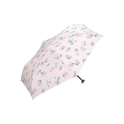 ワールドパーティー(Wpc.)雨傘折りたたみ傘レディースポーチタイプクリーミーフラワーミニ50cm5409-220PK本体サイズ:(使用時)51x89