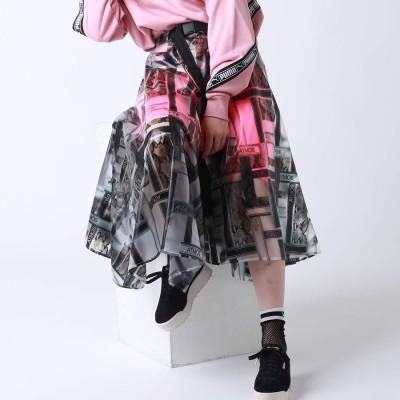 アトモス ピンク atmos pink atmos pink ロゴ ジオメトリック SK (BLACK)