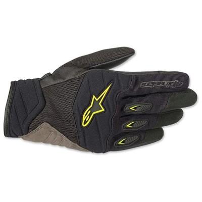 Alpinestars メンズ 3566318-155-M グローブ (Black/Yellow, Medium)(海外取寄せ品)