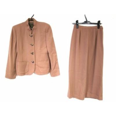 レリアン Leilian スカートスーツ サイズ11 M レディース ダークブラウン【中古】20201116