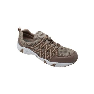 ロックソック スニーカー シューズ レディース Women's Mesh Shoe Brown
