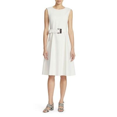ラファイエットワンフォーエイト レディース ワンピース トップス Leslie Sleeveless Belted A-Line Dress