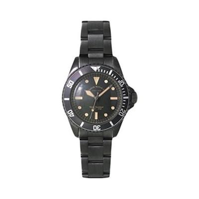 [ヴァーグウォッチカンパニー] 腕時計 BLK SUB(ブラック サブ) ミリタリー ナイロンバンド付 BS-L-001-SB ブラック