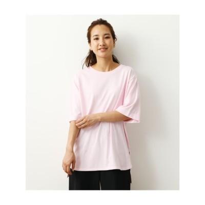 ヴィンテージヘムTシャツ L/PNK1