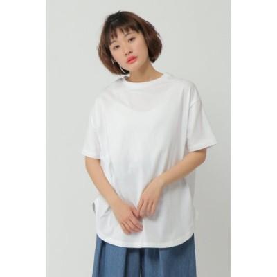 【エルビーシーウィズライフ/Lbc with Life】 USAコットンオーバーサイズTシャツ